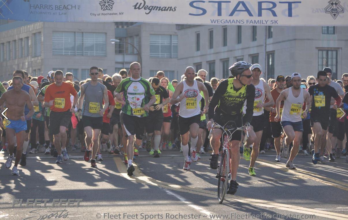 Wegmans 5k Start