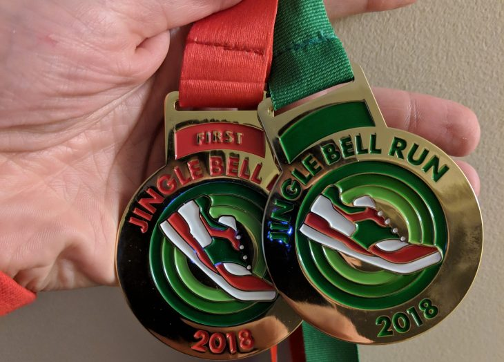 Jingle Bell 5k Medals